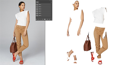 multi clipping path service