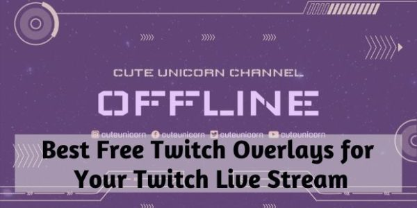 free twitch overlays