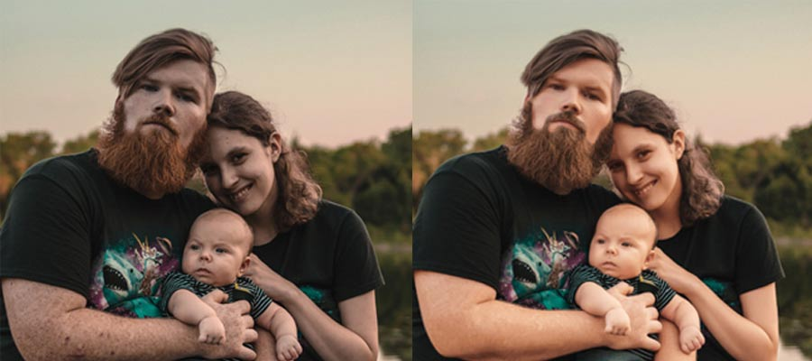 Family Photo Retouching Service