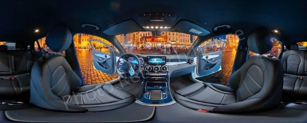 360 degree car photo editing service