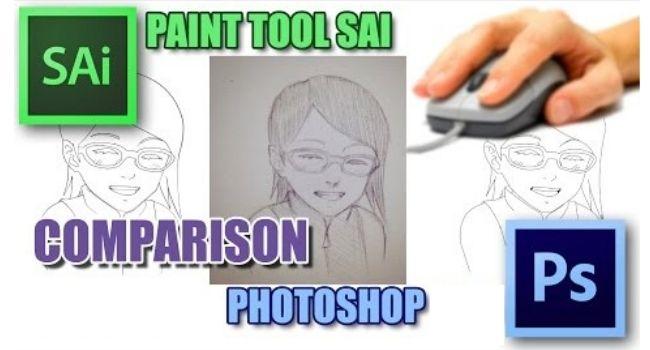 Paint Tool Sai vs Photoshop
