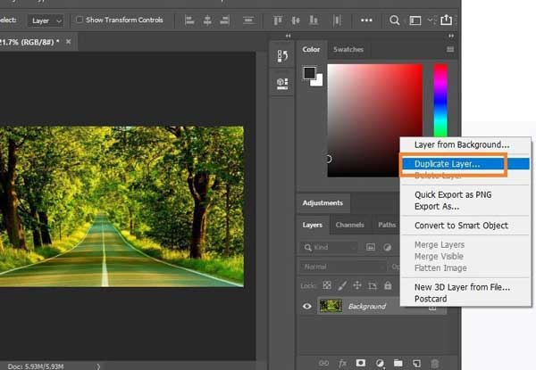 how to invert colors in photoshop